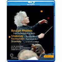 「俄羅斯旋律」 溫布尼音樂會 Rattle conducts Tchaikovsky, Stravinsky & Rachmaninov (藍光Blu-ray) 【EuroArts】 - 限時優惠好康折扣