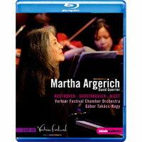 阿格麗希 在韋爾比亞音樂節 Martha Argerich at the Verbier Festival (藍光Blu-ray) 【EuroArts】 - 限時優惠好康折扣