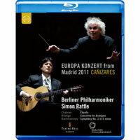 2011歐洲音樂會 在西班牙馬德里 Europa Konzert 2011 from Madrid (藍光Blu-ray) 【EuroArts】 0