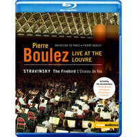 羅浮宮的火鳥 向布列茲致敬-法國羅浮宮博物館音樂會 Pierre Boulez - Live at the Louvre (藍光Blu-ray) 【EuroArts】 - 限時優惠好康折扣
