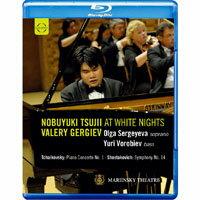 辻井伸行 在俄羅斯白夜音樂節~葛濟夫指揮馬林斯基劇院管弦樂團 Nobuyuki Tsujii at White Nights (藍光Blu-ray) 【EuroArts】 0