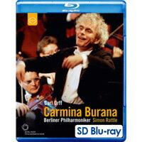柏林除夕音樂會 卡爾.奧夫:布蘭詩歌 Sir Simon Rattle conducts Carmina Burana (藍光SDBlu-ray) 【EuroArts】 - 限時優惠好康折扣