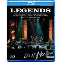 傳奇演唱會 - 瑞士蒙特勒現場演會 Eric Clapton, Steve Gadd, Marcus Miller, Joe Sample, Davi: Legends Live at Montreux 1997 (藍光Blu-ray) 【Evosound】