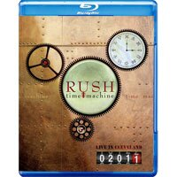 匆促樂團:時光機2011克里夫蘭演唱會 Rush: Time Machine 2011 Live In Cleveland (藍光Blu-ray) 【Evosound】