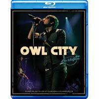 貓頭鷹城市:洛杉磯演唱會 Owl City: Live From Los Angeles (藍光blu-ray) 【Evosound】 - 限時優惠好康折扣