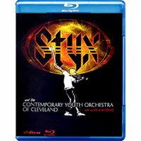 冥河合唱團與克里夫蘭青年管弦樂團 Styx and the CONTEMPORARY YOUTH ORCHESTRA: One With Everything (藍光Blu-ray) 【Evosound】 - 限時優惠好康折扣