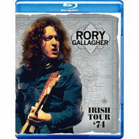 洛瑞.蓋勒許:愛爾蘭之旅 Rory Gallagher: Irish Tour '74 (藍光Blu-ray) 【Evosound】