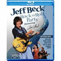 傑夫.貝克:搖滾派對-獻給Les Paul Jeff Beck: Rock 'n' Roll Party - Honouring Les Paul (藍光Blu-ray) 【Evosound】 - 限時優惠好康折扣