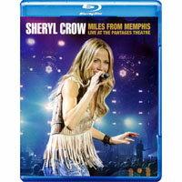 雪瑞兒.可洛:遠離曼菲斯-潘塔吉劇院演唱會 Sheryl Crow: Miles from Memphis (藍光Blu-ray) 【Evosound】