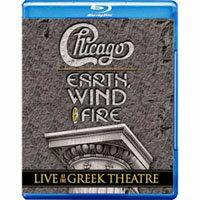 芝加哥樂團&地球風與火樂團:希臘劇院現場演唱會 Chicago and Earth Wind & Fire: Live at the Greek Theatre (藍光Blu-ray) 【Evosound】 - 限時優惠好康折扣