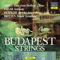 布達佩斯弦樂團:葛利格、艾爾加、雷史畢基、布烈頓:弦樂作品集 Grieg, Elgar, Respighi, Britten - BUDAPEST STRINGS (CD) 0