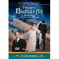 普契尼:歌劇《蝴蝶夫人》 Giacomo Puccini: Madama Butterfly (DVD)【Dynamic】 0