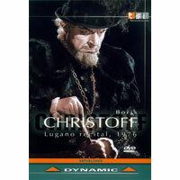 柏里斯克里斯多夫:盧加諾演唱會 Boris Christoff: Lugano Recital, 1976 (DVD)【Dynamic】 - 限時優惠好康折扣