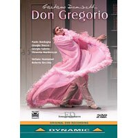 董尼才第:歌劇《唐.格雷戈里奧》 Gaetano Donizetti: Don Gregorio (2DVD)【Dynamic】 0