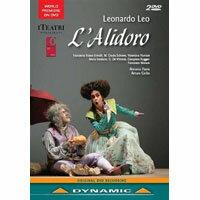 里歐:歌劇《歐萊雅艾里多羅》 Leonardo Leo: L'Alidoro (2DVD)【Dynamic】 0