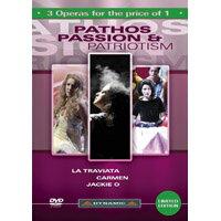 Dynamic歌劇嚴選精選:悲愴、激情與愛國主義 Pathos, Passion & Patriotism 3 DVD Box (3DVD)【Dynamic】 - 限時優惠好康折扣