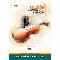 阿卡多:克雷蒙納大師班第1集 Salvatore Accardo Masterclass in Cremona Vol.1 (DVD)【Dynamic】 - 限時優惠好康折扣