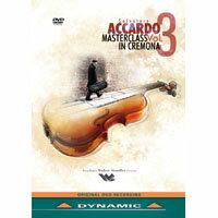 阿卡多:克雷蒙納大師班第3集 Salvatore Accardo Masterclass in Cremona Vol.3 (DVD)【Dynamic】 - 限時優惠好康折扣