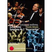 馬勒二號「復活」~阿巴多在琉森音樂節 Gustav Mahler: Symphony No.2 (DVD) 【EuroArts】 - 限時優惠好康折扣
