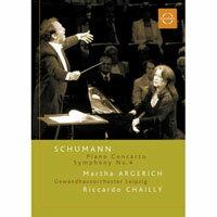 阿格麗希的舒曼之夜~舒曼逝世150週年紀念音樂會 Schumann: Argerich & Chailly (DVD) 【EuroArts】 - 限時優惠好康折扣
