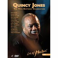 昆西.瓊斯 - 75歲生日快樂 V.A.: Quincy Jones - 75th B-day Celebration (2DVD) 【Evosound】