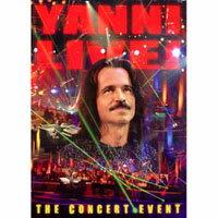 雅尼:超體感現場 Yanni: Live - The Concert Event (DVD) 【Evosound】 - 限時優惠好康折扣