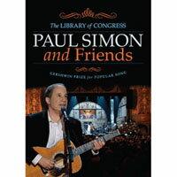 保羅賽門與好友們真情獻唱 Paul Simon and Friends: The Library of Congress Gershwin Prize for Popular Song (DVD) 【..