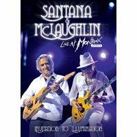 聖塔納和麥克勞克林:蒙特勒現場-邀光演唱會 Santana & McLaughlin: Live at Montreux-Invitation to Illumination (DVD) 【Evosound】 - 限時優惠好康折扣