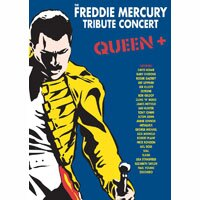 群星向皇后樂團主唱 佛萊迪.摩克瑞致敬 Various Artists: Freddie Mercury Tribute Concert (3DVD) 【Evosound】 - 限時優惠好康折扣