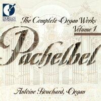 帕海貝爾管風琴作品集1Pachelbel: Complete Organ Works, Vol. 1  (CD)【Dorian】 - 限時優惠好康折扣