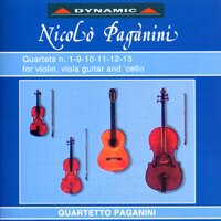 帕格尼尼:吉他四重奏1 Nicolo Paganini: Complete Quartets (Vol.1) (2CD)【Dynamic】 - 限時優惠好康折扣