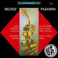 帕格尼尼:小提琴與吉他奏鳴曲1 Nicolo Paganini: 30 Sonatas for violin and guitar (Sonate di Lucca 1805-1808) (2Vinyl LP)【Dynamic】 0