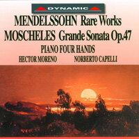 鋼琴雙重奏的浪漫世界 MENDELSSOHN / MOSCHELES: Rare Works / Grande Sonate Op.47 (CD)【Dynamic】 - 限時優惠好康折扣