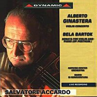 阿卡多20世紀小提琴 Ginastera: Violin Concerto   Barto