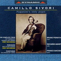 西佛里:小提琴作品 Camillo Sivori: Works for Violin and Piano (CD)【Dynamic】 - 限時優惠好康折扣