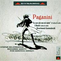 """你的心裡沒有我~帕格尼尼:美妙的小提琴與大提琴三重奏 Nicolo Paganini: """"In cuor più non mi sento"""" and other works (CD)【Dynamic】 - 限時優惠好康折扣"""
