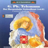 泰雷曼:和諧的禮拜式 第二集 G. Ph. Telemann: Der Harmonischer Gottesdienst Vol. 2 (CD)【Dynamic】 - 限時優惠好康折扣