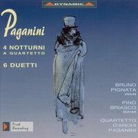魔鬼的柔情 – 帕格尼尼:夜曲與二重奏 Nicolo Paganini: 4 Nocturnes / 6 Duets / Quartet No. 7 (arr. for string quartet) (CD)【Dynamic】 - 限時優惠好康折扣