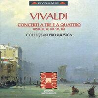威尼斯之光 – 韋瓦第:室內協奏曲 Antonio Vivaldi: Concerti a tre e a quattro (CD)【Dynamic】