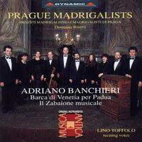 布拉格情歌作曲家演奏團:班基耶里作品集 Adriano Banchieri: Barca di Venetia per Padua / Il Zabaione Musicale (CD)【Dynamic】 - 限時優惠好康折扣