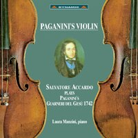 帕格尼尼 名琴加農砲 Paganini's Violin (CD)【Dynamic】 0