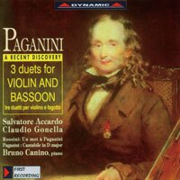 大象與小蜜蜂 帕格尼尼:三首為小提琴與巴松管作的二重奏 Nicolo Paganini: Works for violin and bassoon (CD)【Dynamic】 - 限時優惠好康折扣