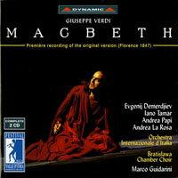 威爾第:歌劇《馬克白》 Verdi: Macbeth (2CD)【Dynamic】 - 限時優惠好康折扣