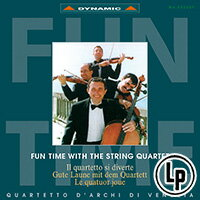 威尼斯古典四重奏:顛覆古典 Fun Time with the String Quartet (Vinyl LP)【Dynamic】 0