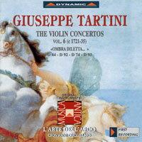 流浪小提琴家塔替尼:小提琴協奏曲全集6 Tartini: The Violin Concertos Volume 6 (CD)【Dynamic】 - 限時優惠好康折扣