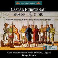 卡斯帕.弗斯特納:共濟會音樂 Caspar Fürstenau: Masonic Music (CD)【Dynamic】 - 限時優惠好康折扣