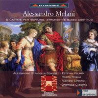 梅蘭尼:清唱劇作品集 Melani: 6 Cantatas for soprano, instruments and basso continuo (CD)【Dynamic】 - 限時優惠好康折扣