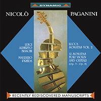 魔鬼情人-帕格尼尼:小提琴與吉他奏鳴曲Paganini:SonatediLucca(Vol.2)(CD)【Dynamic】