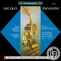 魔鬼情人 - 帕格尼尼:小提琴與吉他奏鳴曲 Paganini: Sonate di Lucca (Vol. 2) (2Vinyl LP)【Dynamic】 0