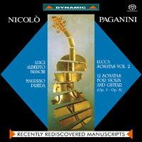 魔鬼情人 - 帕格尼尼:小提琴與吉他奏鳴曲 Paganini: Sonate di Lucca (Vol. 2) (SACD)【Dynamic】 0